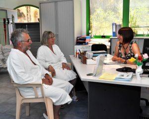 La médecine associée à la cure thermale à Ussat les Bains.
