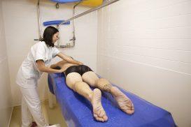 massage sous affusion